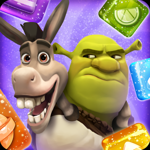 Shrek Sugar Fever – Puzzle Game